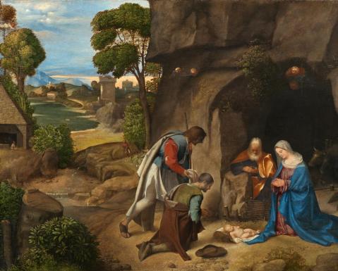Adorazione dei Pastori - Giorgione
